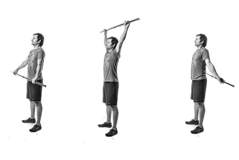 vježba za ramena