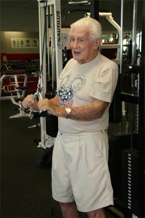 old man gym