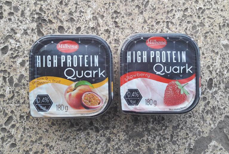 milbona high protein quark