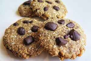 proteinski keksi od kikirikija i banane 2