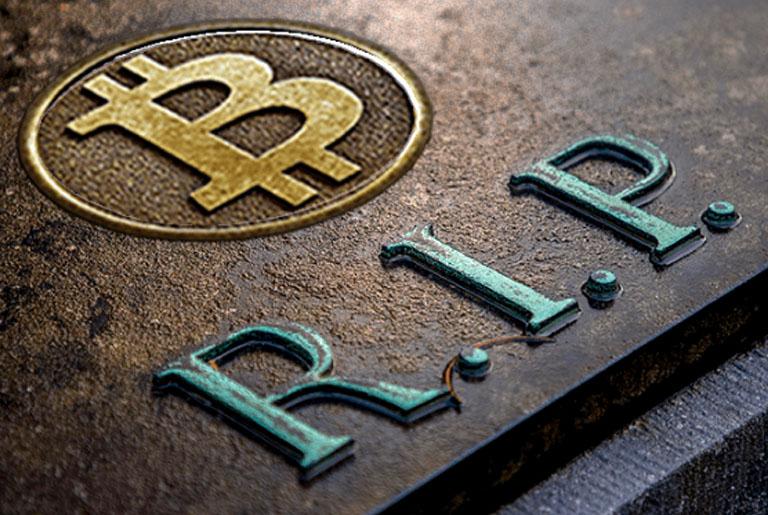 bitcoin je mrtav