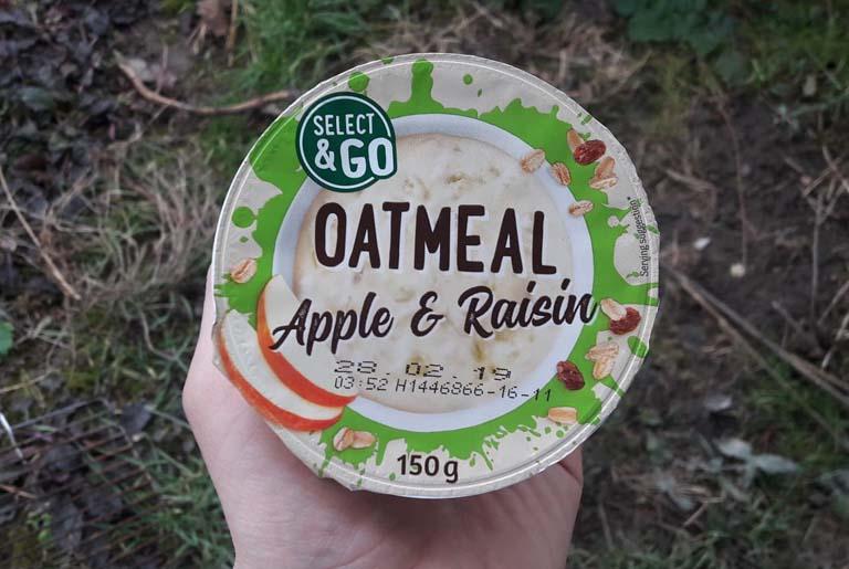 oatmeal apple raisin